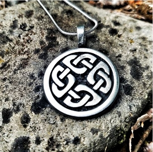 Celtic Shield Knot Necklace