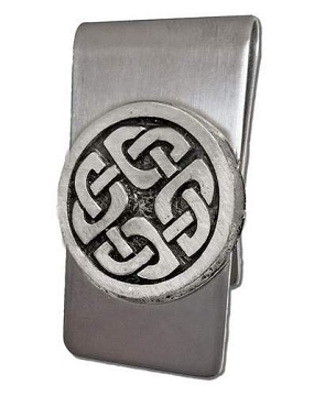 Celtic Shield Money Clip