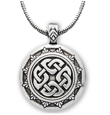 Shield Knot Pendant