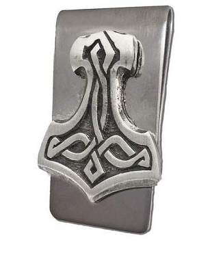 Thor's Hammer Money Clip