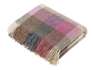 Harlequin - Heather Merino Lambswool Throw Blanket Milan