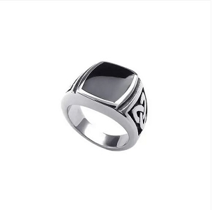 Stainless Steel Celtic Signet Ring