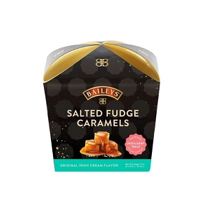 Bailey's Salted Fudge Caramels