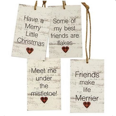 Friends Heart Tags/Ornaments