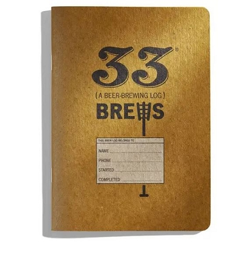 33 Brews Logbook