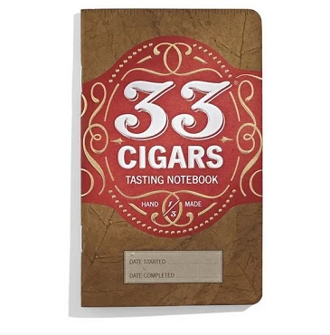 33 Cigars Tasting Notebook