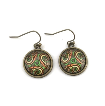 Celtic Trikele Earrings