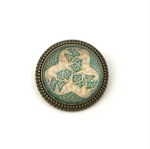 Celtic Knot 3 Horses Pin