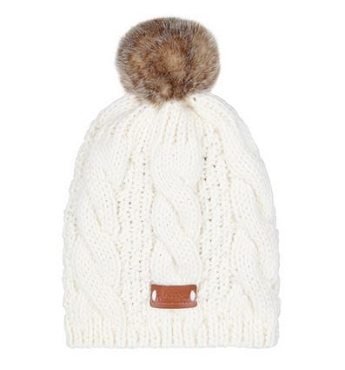 Cream Knitted Tammy Hat