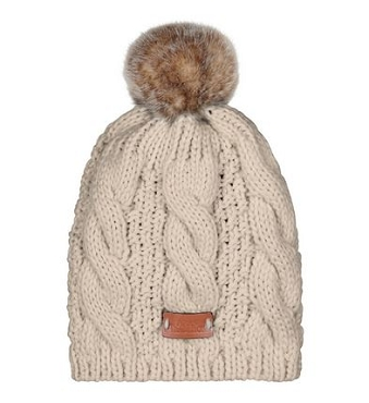 Oatmeal Knitted Tammy Hat