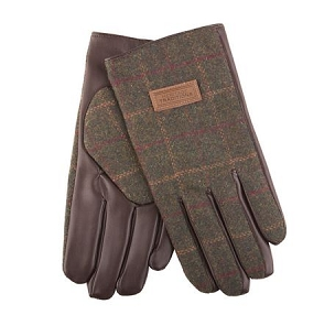 Heritage Tweed Mens Gloves Green Box