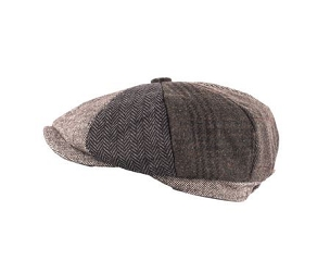 Patchwork Cap Grey Multi