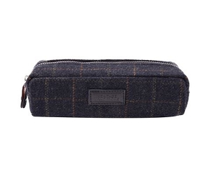 Tweed Travel Pouch