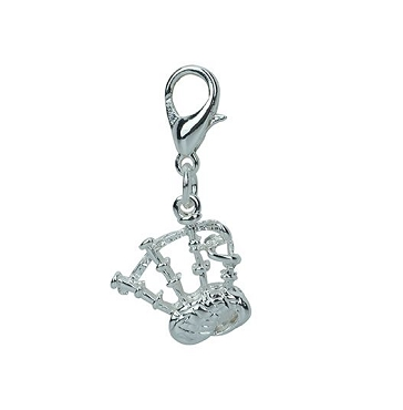 Bagpipes Clip On Charm